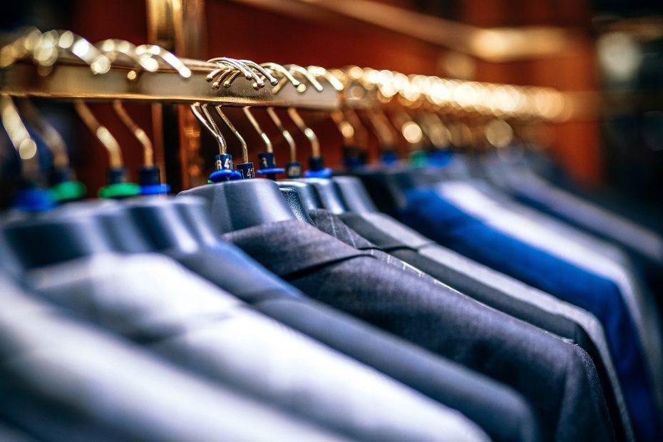 industrial clothes rail